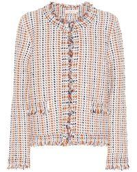 Tory Burch - Hollis Tweed Jacket - Lyst