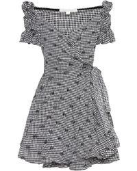 Jonathan Simkhai - Mini robe à carreaux - Lyst