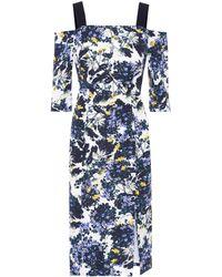 Erdem - Verena Floral-printed Dress - Lyst