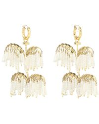Ellery - Genealogy Xl Palm Earrings - Lyst