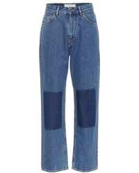 Golden Goose Deluxe Brand - Jeans a vita alta - Lyst