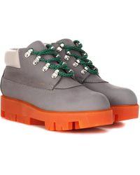 Acne Studios - Ankle Boots Tinne aus Leder - Lyst