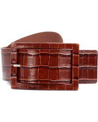 Max Mara - Embossed Leather Belt - Lyst