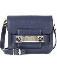 Proenza Schouler - Ps11 Tiny Leather Crossbody Bag - Lyst