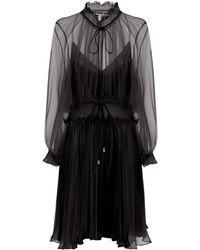Chloé - Silk Georgette Dress - Lyst