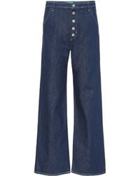 M.i.h Jeans - Paradise High-rise Wide-leg Jeans - Lyst