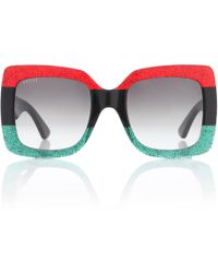 Gucci - Oversize Square-frame Acetate Sunglasses - Lyst