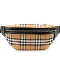 Burberry - Vintage Check Belt Bag - Lyst