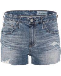 AG Jeans - The Bryn Ex-boyfriend Cut-off Shorts - Lyst