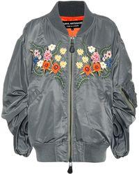 Junya Watanabe - Embroidered Bomber Jacket - Lyst