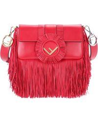 Fendi - Baguette Leather Shoulder Bag - Lyst