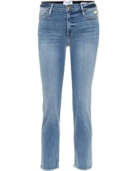 FRAME - Le High Straight Jeans - Lyst