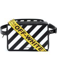 Off-White c/o Virgil Abloh - Diag Leather Shoulder Bag - Lyst