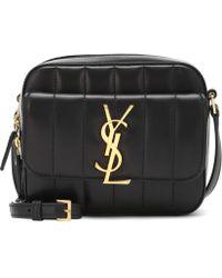 Saint Laurent - Mini Vicky Leather Shoulder Bag - Lyst