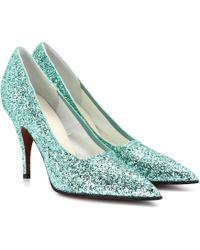 Victoria Beckham - Dorothy Glitter Court Shoes - Lyst