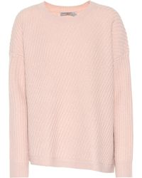 Vince - Ribbed Wool-blend Sweater - Lyst