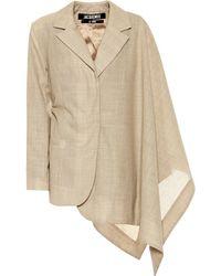 Jacquemus - La Veste Bibi Wool Jacket - Lyst