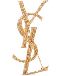 Saint Laurent - Opium Ysl Brooch - Lyst