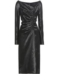 Marc Jacobs - Ruched Satin Dress - Lyst