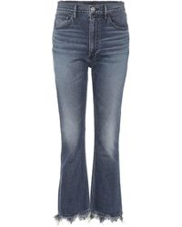3x1 - W5 Empire High-rise Flared Jeans - Lyst