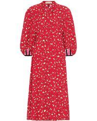 Marni - Floral Dress - Lyst