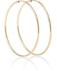 Loren Stewart - Nakita 14kt Gold Infinity Hoop Earrings - Lyst