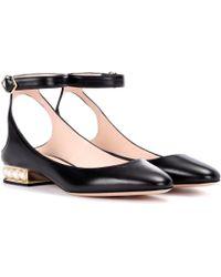 Nicholas Kirkwood - Casati Pearl Leather Court Shoes - Lyst