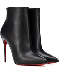 Christian Louboutin - So Kate 100 Leather Ankle Boots - Lyst