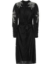 Dodo Bar Or - Bead Embroidered Velvet Midi Dress - Lyst