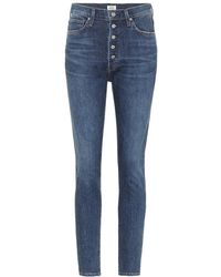 Citizens of Humanity - Jeans Olivia a vita alta - Lyst