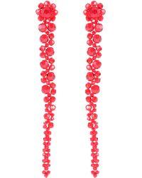 Simone Rocha - Crystal Beaded Flower Hairclip - Lyst