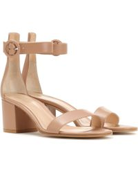 Gianvito Rossi - Exclusive To Mytheresa.com – Versilia 60 Leather Sandals - Lyst