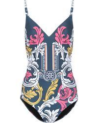 Mary Katrantzou - Printed One-piece Swimsuit - Lyst