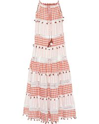 Dodo Bar Or - Tiered Cotton Maxi Dress - Lyst