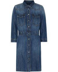 7 For All Mankind - Victoria Denim Shirt Dress - Lyst