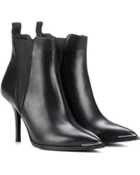 Acne Studios - Jemma Leather Ankle Boots - Lyst