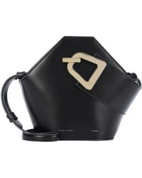 Danse Lente - Mini Johnny Leather Bucket Bag - Lyst
