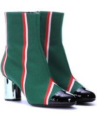 Marco De Vincenzo | Striped Ankle Boots | Lyst