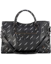 Balenciaga - Classic City Printed Leather Tote - Lyst