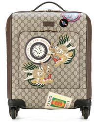Gucci - Trolley Courrier in tessuto GG Supreme - Lyst a568cfb5dbfa