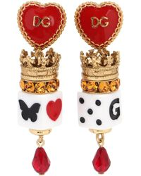 Dolce & Gabbana - Clip-on Earrings - Lyst