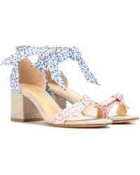 Alexandre Birman - Exclusive To Mytheresa. Com – Clarita Floral-printed Sandals - Lyst