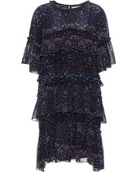 Velvet - Lulu Floral-printed Dress - Lyst