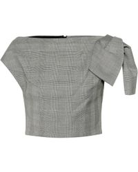 Maticevski - Nominated Checked Top - Lyst