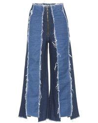 Rejina Pyo - Bella Panelled Wide-leg Jeans - Lyst
