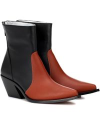 Givenchy - Leather Cowboy Boots - Lyst