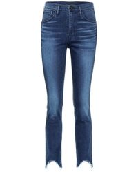 3x1 - Straight Authentic Crop Jeans - Lyst