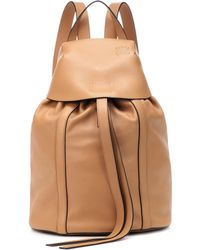 Loewe - Small Leather Backpack - Lyst