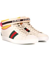 Gucci - Baskets en cuir New Ace - Lyst