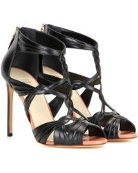 Francesco Russo - Leather Sandals - Lyst
